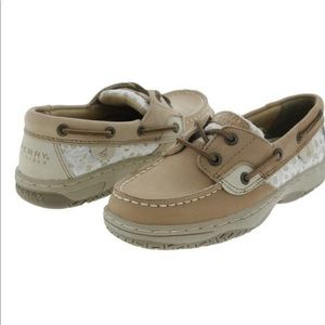 Sperry Lace and Leather Boat Shoes